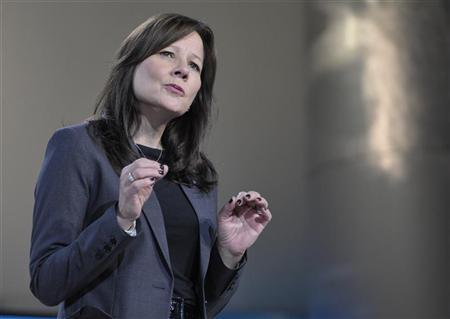 File photo of Mary Barra, General Motors Co's global product development chief. REUTERS/Mike Cassese
