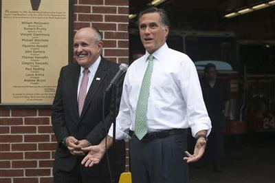 Romney accuses Obama of politicizing bin Laden anniver...