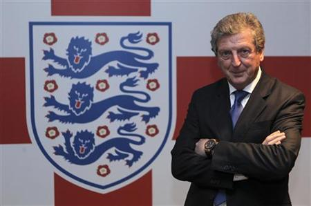 Newly appointed England soccer manager Roy Hodgson poses for a photograph in the tunnel at Wembley Stadium in London May 1, 2012. REUTERS/Andy Couldridge/pool