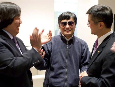 Chinese dissident wants U.S. refuge