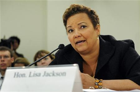 U.S. Environmental Protection Agency Administrator Lisa Jackson testifies at a hearing of the House Subcommittee on Oversight and Investigations on Capitol Hill in Washington, September 22, 2011. REUTERS/Jonathan Ernst