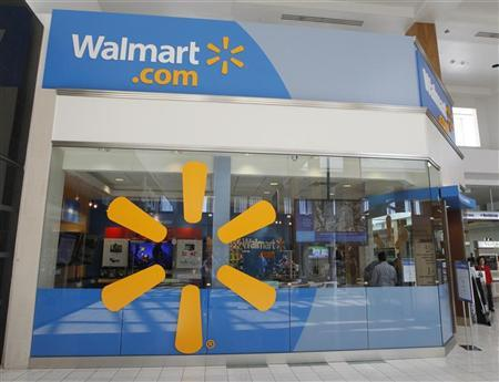 A view of the Wal-Mart.com store at the Topanga Plaza in Canoga Park, California, November 8, 2011. REUTERS/Fred Prouser