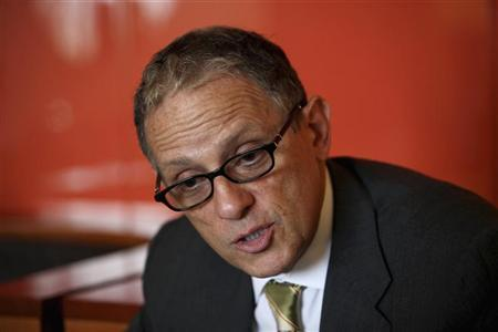 President of the U.S. Export-Import Bank Fred Hochberg speaks during an interview with Reuters in Nigeria's capital Abuja October 19, 2011. REUTERS/Afolabi Sotunde