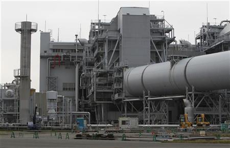 Tokyo Electric Power Company's (TEPCO) Kawasaki Thermal Power Plant is seen in Kawasaki, south of Tokyo April 22, 2012. REUTERS/Toru Hanai