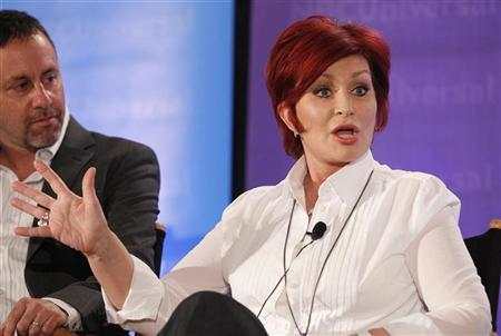 Sharon Osbourne, one of the judges on ''America's Got Talent'', takes part in a panel discussion at the NBC Universal Summer Press Day 2012 introducing new television shows for the summer season in Pasadena, California April 18, 2012. REUTERS/Fred Prouser