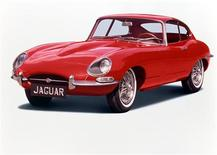 The Jaguar E-Type in an undated image. REUTERS/Victoria and Albert Museum