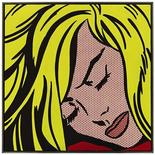 Roy Lichtenstein's Sleeping Girl from 1964 is shown in this image released to Reuters on May 9, 2012. Sleeping Girl sold for $44,882,500 setting a new record for the artist at auction (est. $30/40 million). Sleeping Girl is one of the high-points of the Lichtenstein's comic book inspired paintings and an icon of Post-War American art that has not appeared on the market since it was purchased by noted West Coast collectors and philanthropists Beatrice and Phillip Gersh, from the Ferus Gallery in 1964. REUTERS/Sotheby's/Handout