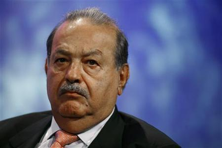 Carlos Slim, Mexican tycoon and founder of Fundacion Carlos Slim, attends a discussion regarding megacities at the Clinton Global Initiative in New York, September 20, 2011. REUTERS/Allison Joyce