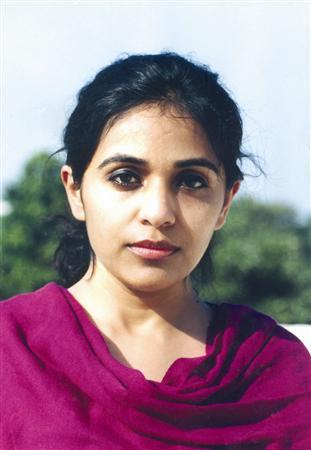 Writer Rupa Bajwa whose new novel 'Tell Me a Story' is about the daily lives of India's lower middle class.