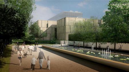 File illustration of the new Barnes Foundation building on Philadelphia's Benjamin Frankline Parkway. REUTERS/Barnes Foundation/Handout