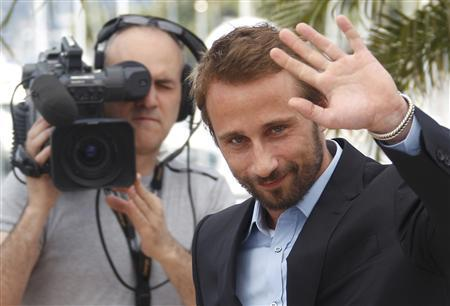 Cast member Matthias Schoenaerts poses during a photocall for the film ''De rouille et d'os'', by director Jacques Audiard, in competition at the 65th Cannes Film Festival, May 17, 2012. REUTERS/Christian Hartmann