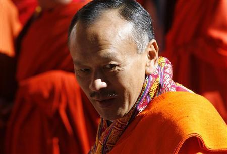 Bhutan's Prime Minister Jigmi Thinley attends the coronation ceremony of Bhutan's fifth King Jigme Khesar Namgyel Wangchuck in Thimphu November 6, 2008. REUTERS/Desmond Boylan