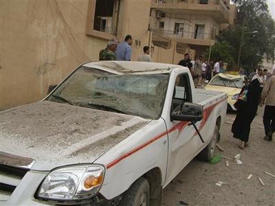 Syria bomb kills 9, Damascus blames foreign plot