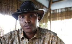 Indicted war criminal Bosco Ntaganda poses for a photograph during an interview with Reuters in Goma, Democratic Republic of Congo, October 5, 2010. REUTERS/Katrina Manson