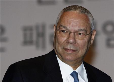 Former U.S. Secretary of State Colin Powell in Seoul in this May 13, 2010 file photo. REUTERS/Truth Leem