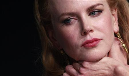 Cast member Nicole Kidman attends a news conference for the film ''The Paperboy'' in competition at the 65th Cannes Film Festival, May 24, 2012. REUTERS/Christian Hartmann