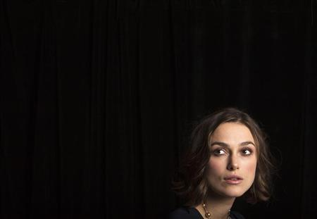 Actress Keira Knightley of the film ''A Dangerous Method'' poses for a portrait during the 36th Toronto International Film Festival (TIFF) in Toronto September 11, 2011. REUTERS/Mark Blinch