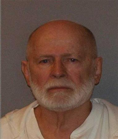 Former mob boss and fugitive James ''Whitey'' Bulger, who was arrested in Santa Monica, California on June 22, 2011 along with his longtime girlfriend Catherine Greig, is seen in a booking mug photo released to Reuters on August 1, 2011. Bulger fled Boston in late 1994 after receiving a tip from a corrupt FBI agent that federal charges were pending. Greig joined him a short time later and has been charged with harboring Bulger as a fugitive. REUTERS/U.S. Marshals Service/U.S. Department of Justice/Handout