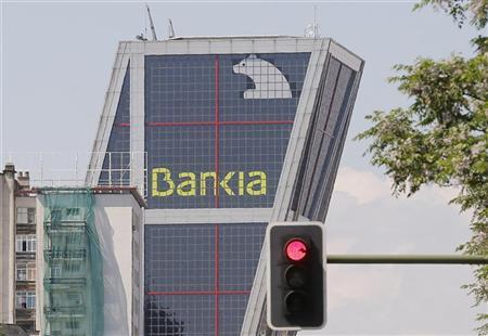 Spain's Bankia bank headquarters building is seen in Madrid May 29, 2012. REUTERS/Juan Medina
