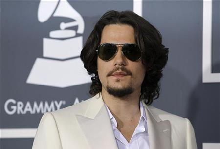 John Mayer arrives at the 53rd annual Grammy Awards in Los Angeles, California February 13, 2011. REUTERS/Danny Moloshok