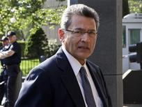 Rajat Gupta, a former Goldman Sachs Group Inc and Procter & Gamble board member, arrives at Manhattan Federal Court in New York, May 29, 2012. REUTERS/Andrew Burton