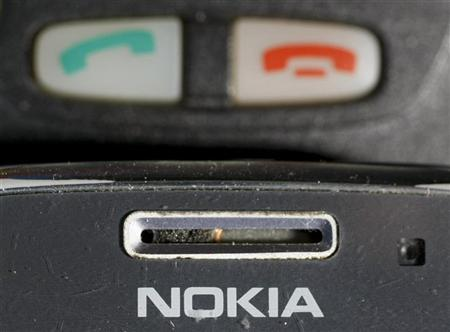 Mobile phones made by Nokia are pictured in this photo illustration taken in Warsaw May 8, 2012. REUTERS/Kacper Pempel