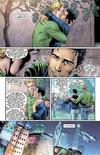 "Panels from the comic book ""Earth 2"" are shown in this publicity photo released to Reuters June 1, 2012. REUTERS/DC Comics/Handout"