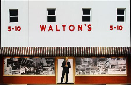 Wal-Mart Chairman Rob Walton speaks during the annual Wal-Mart shareholders' meeting in Fayetteville, Arkansas, June 1, 2012. REUTERS/Jacob Slaton