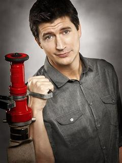 Actor Ken Marino is shown in this publicity photo from the web series ''Burning Love'' released to Reuters June 4, 2012. Yahoo! stokes the flames of Internet media with a new attempt at bringing a TV-like show to the Web on Monday with the launch of ''Burning Love,'' a comedy spoof of reality show ''The Bachelor'' that has the backing of Ben Stiller. Produced with Paramount's Insurge Pictures and Stiller's Red Hour Productions, the series is a succession of 7 to 10-minute episodic shorts that parody the popular reality competition in which women vie for the affection of a single man. REUTERS/Robyn Van Swank/Handout