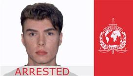 Luka Rocco Magnotta appears on Interpol's website on June 5, 2012. The Canadian man wanted in his homeland on suspicion of killing and dismembering a student, then posting a video of the crime online, says he will not fight extradition from Germany where he was arrested, German authorities said on June 5. Police arrested the porn actor in a Berlin Internet cafe on June 4. He faces first-degree murder charges in Canada over the killing of Chinese student Jun Lin, 32, in Montreal. REUTERS/Interpol/Handout