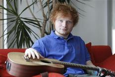 English musician Ed Sheeran poses in Los Angeles May 8, 2012. REUTERS/Sam Mircovich