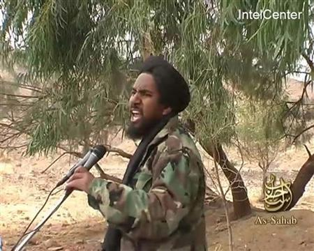A still image from January 22, 2008 video footage shows Abu Yahya al Libi, a Libyan-born top al Qaeda leader, who was killed in a U.S. drone strike in Pakistan earlier this week, a U.S. official said on June 5, 2012. REUTERS/IntelCenter/Handout