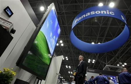 A man visits the Panasonic stand at the National Retail Federation's Annual Convention and Expo in New York January 16, 2012. REUTERS/ Kena Betancur