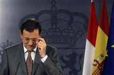 El Gobierno español pedirá previsiblemente ayuda para recapitalizar sus bancos este fin de semana, según dijeron el viernes dos fuentes de la Unión Europea y una de Alemania. En la imagen, el presidente del Gobierno, Mariano Rajoy, el 7 de junio de 2012 en Moncloa. REUTERS/Susana Vera