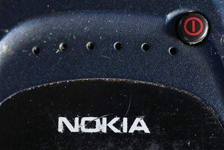 A mobile phone made by Nokia is pictured in this photo illustration taken in Warsaw May 8, 2012. REUTERS/Kacper Pempel