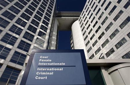 The entrance of the International Criminal Court (ICC) is seen in The Hague March 3, 2011. REUTERS/Jerry Lampen