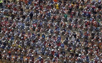 Extreme bike race
