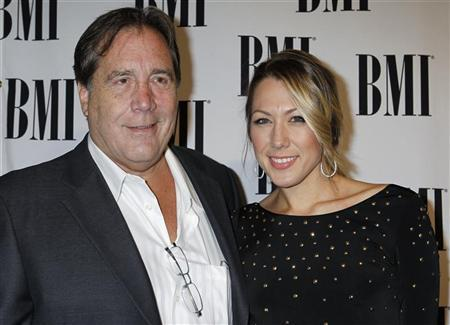 Photo of Colbie Caillat & her Father  Ken Caillat