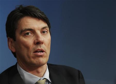Tim Armstrong, AOL Chief Executive Officer, speaks during the Reuters Global Technology Summit in New York, May 16, 2011. REUTERS/Brendan McDermid