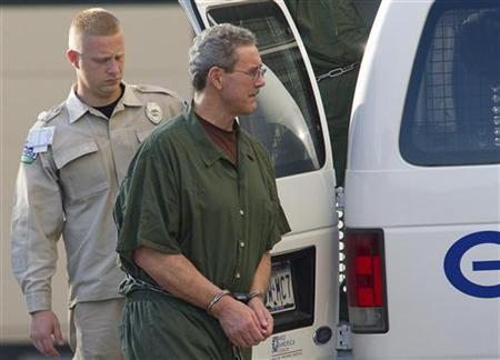 Convicted financier Allen Stanford, who faces up to 230 years in prison for his $7 billion Ponzi scheme, arrives at Federal Court in Houston for sentencing June 14, 2012. REUTERS/Richard Carson