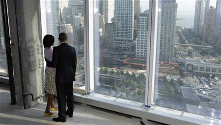 OBAMA VOWS WE REMEMBER, WE REBUILD AT WORLD TRADE CENTER | Reuters