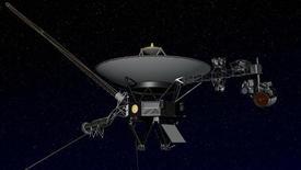 La sonda espacial Voyager 1 alcanzó el límite del sistema solar, ampliando su récord de ser el objeto hecho por el hombre que más lejos ha llegado en el espacio. En la imagen, un dise;o conceptual de la Voyager. REUTERS/NASA/JPL/Handout