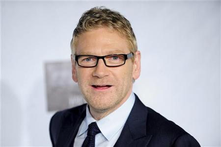 Irish actor Kenneth Branagh arrives at the US-Ireland Alliance Pre-Academy Awards event in Santa Monica, California February 23, 2012. REUTERS/Gus Ruelas