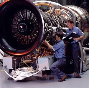 An FT8 Gas Turbine from Pratt & Whitney Power Systems is pictured in this undated handout photo from Pratt & Whitney, received by Reuters on June 18, 2012. REUTERS/Pratt & Whitney/Handout