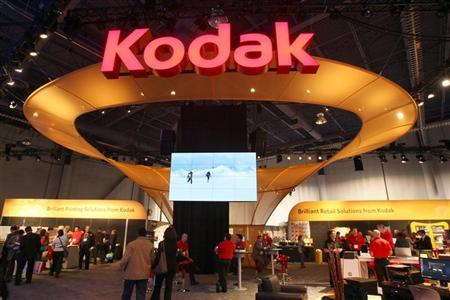 A view of the Kodak booth is seen during the 2012 International Consumer Electronics Show (CES) in Las Vegas, Nevada, January 11, 2012. REUTERS/Steve Marcus