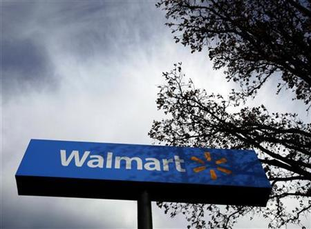 A Walmart store is seen in Rogers, Arkansas, November 8, 2009. REUTERS/Lucy Nicholson