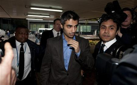 Former Pakistan cricket captain Salman Butt arrives at Southwark Crown court in London November 3, 2011. REUTERS/Philip Brown/Files