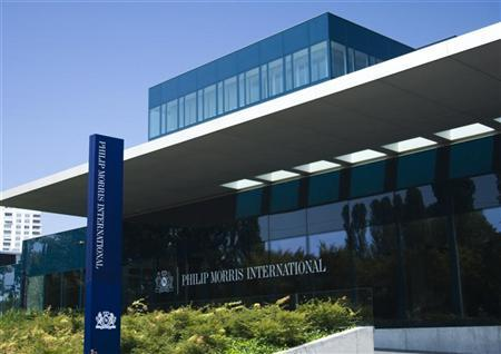 Philip Morris International Operation Center is pictured in Lausanne August 19, 2009. REUTERS/Denis Balibouse