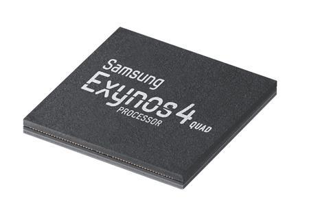 Samsung Electronics' Exynos 4 Quad processor is seen in this picture released by the company in Seoul on April 26, 2012 and obtained by Reuters on June 21, 2012. REUTERS/Samsung/Handout