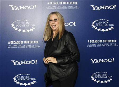 Actress and singer Barbra Streisand arrives for ''A Decade of Difference: A Concert Celebrating 10 Years of the William J. Clinton Foundation'' at the Hollywood Bowl in Hollywood, California October 15, 2011. REUTERS/Mario Anzuoni